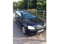 Black Vauxhall Corsa 1.2 SXI