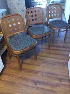3 fabulous Mid Century Modern Dinette chairs Cambridge Kitchener Area image 2