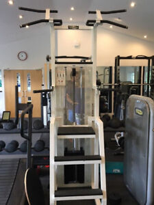 Assisted chin up /back & chest Commercial quality gym equipment.