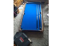 bce 5 ft pool/snooker table top