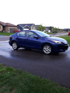 2013 Mazda Mazda3 GS-SKY Sedan 6 Speed Manual
