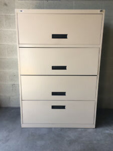 FILE CABINET LATERAL- HEAVY DUTY-MADE IN CANADA! $199- COST $600