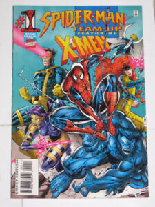 Marvel Comics Spider-Man Team-Up issues 1,2,3,4,5 & 6 comic book