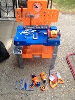 Home Depot kid's workbench