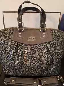 Authentic Coach Bag - Limited Edition in Snow Leopard