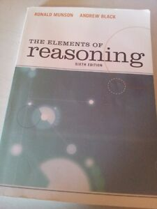 PHI1101 The Elements of Reasoning Sixth Edition