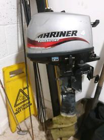 4hp mariner outboard engine short shaft