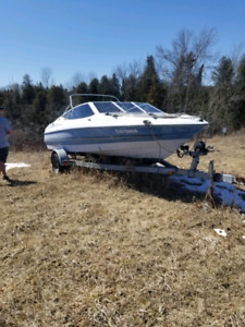 Old bayliner *project boat* comes with trailer