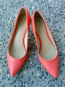 (New) ALDO Coral Kitten Heel Shoes/Pumps - 7/7.5
