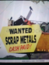 07379800190 SCRAP METAL WANTED!!! Collection FREE Top prices
