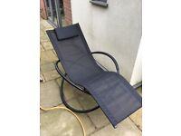 Recling rocker garden chair
