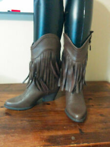 Fringe Cowboy Boots from Calgary
