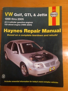 99-05 Volkswagen Golf Haynes Manual