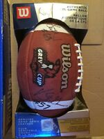 WILSON official Grey Cup football (autographed)