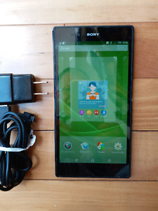 Xperia Z Ultra, Charger and Computer Cable for Sale