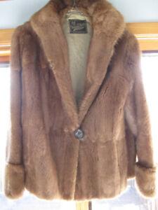 Muskrat Jacket-Mitchell Furs-Excellent condition