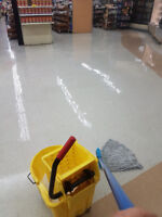 Professional Floor Stripping & Waxing - Glossy Shiny Floors!