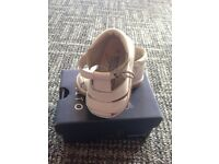 Baby Designer White Leather Shoes