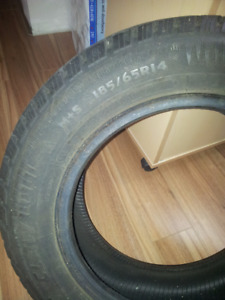 Winterclaw tires 185/65R14 - Pneues d'Hiver winterclaw