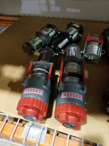 Various winches- open box. 2000lbs to 4500lbs Runva, Warrior