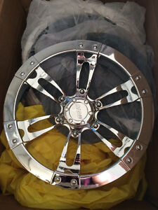 "10"" chrome hubcaps for your golf cart!"