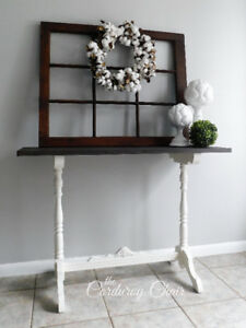 Farmhouse Sofa/Entryway/Accent Table
