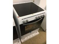 60cm wide, Electric Cooker With Large single Oven with Grill