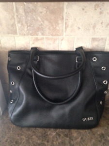 Guess Leather Purse Black