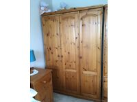 Great condition, great value, Solid Pine Wardrobe