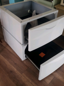 Storage Drawers washer and dryer