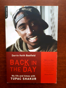 Livre tupac shakur back in the day 2pac book