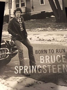 Signed! Bruce Springsteen Born To Run - $500
