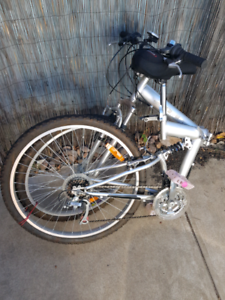 Foldable bicycle full size