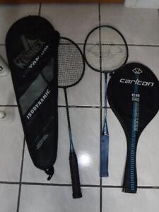 Ensembles de 6 raquettes de badminton