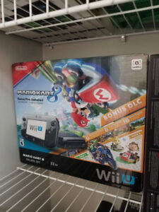 LIKE NEW Wii U System Package Mario Kart - $270 firm