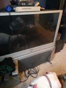 55 inch hd  Panasonic rear projection style tv