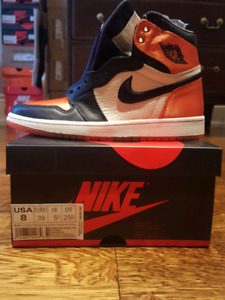 Air Jordan 1 Satin Shattered Backboard size 8 Women's