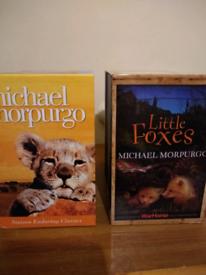 **AS NEW** Michael Morpurgo boxsets x 2 (32 books)