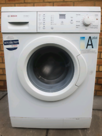 Bosch A* washing machine delivered and installed today