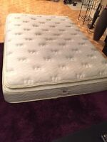 NEW Condition Pillowtop Double Mattress From Brault Et Martineau