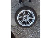 BMW spare wheel rft