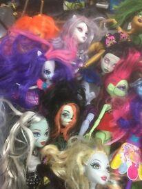 Monster high dolls £5 each