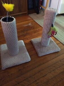Scratch post for cats