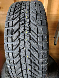 ALMOST NEW TREAD- 4 WINTER TIRES AND RIMS
