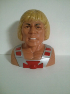 He-man and the master's of the universe vintage bust piggy bank