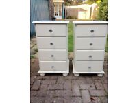 Solid pine chest / bedside drawers