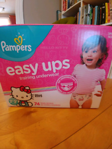 Unopened Pampers Easy Ups. 2-3t