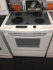 Slide in top glass stove SALE