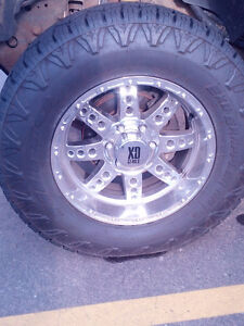 """18"""" wheels and tires"""