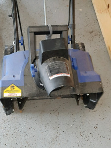Snow thrower - Electric